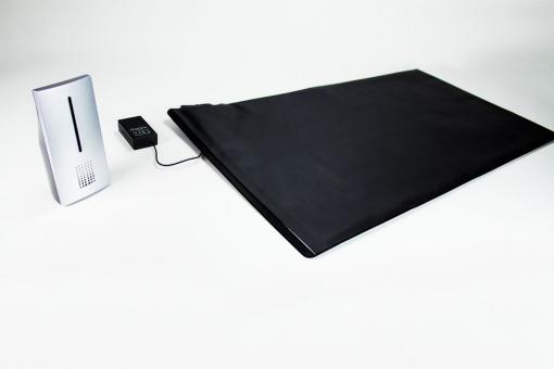 Pressure sensitive detector mat with Receiver (selectable volume)