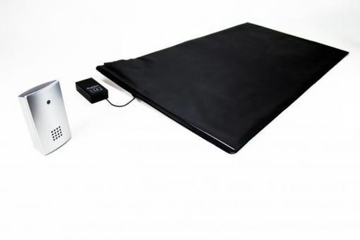 Pressure sensitive detector mat with Receiver