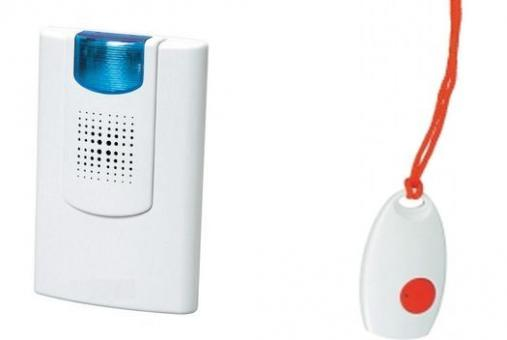 Personal Pager System (Call Button Nurse Alert System) with Receiver